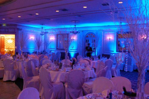 Ambiance uplighting wedding uplighting reception corporate event